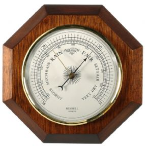 "204 103mm (4 1/16"")barometer with 6"" octagonal mount"